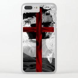 VELVET CROSS Clear iPhone Case