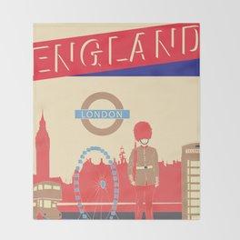 LONDON Throw Blanket