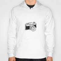 vintage camera Hoodies featuring Camera by Dea Brazil