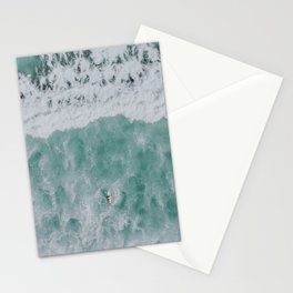 seafoam xiii Stationery Cards