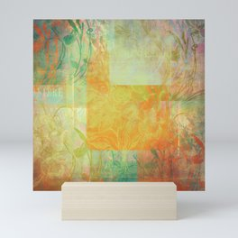 French Mosaic No1 Mini Art Print