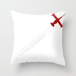 Cowboy Bebop - See You Space Cowboy Throw Pillow