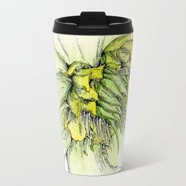 Watercolor Helleborus Travel Mug