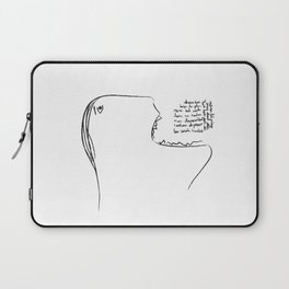 Eat a Song Laptop Sleeve