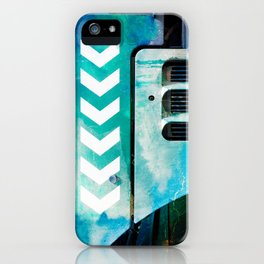 Road Roller Chevron 03 - Industrial Abstract (everyday 19.01.2017) iPhone Case