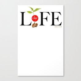 One Life Canvas Print