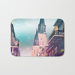 Surreal St. Louis Cathedral Bath Mat
