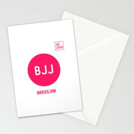 My Favorite Sport is Brazilian Jiu-Jitsu Fun BJJ MMA Stationery Cards