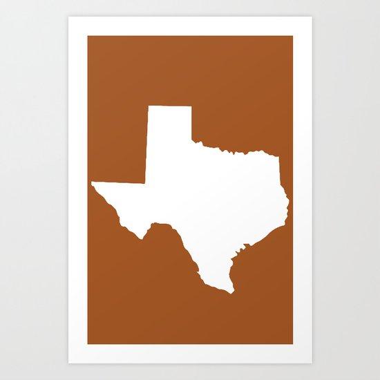 Texas  Art Print