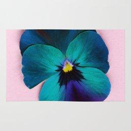 Viola tricolor Rug