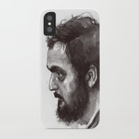 kubrick iPhone & iPod Cases featuring Stanley Kubrick by Laurent Samani