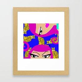 Bengal Babe Framed Art Print