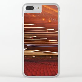 Radio City Musc Hall Clear iPhone Case
