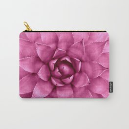 Succulent Magenta Pink Carry-All Pouch