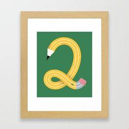 No. 2 Framed Art Print