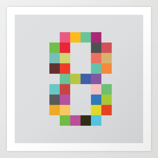 Eight Bit Art Print