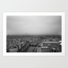 Paris Je t'aime Art Print