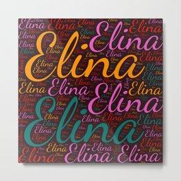 Elina Metal Print