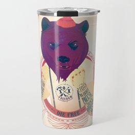 North Bear Knuckles Travel Mug