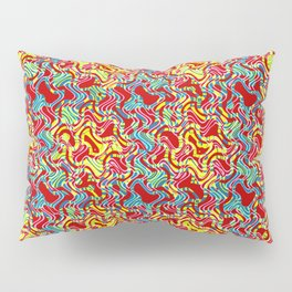 Polyp Red - Coral Reef Series 016 Pillow Sham