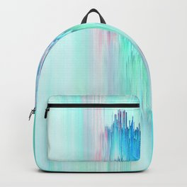 Rainbow Cascade Glitch Backpack
