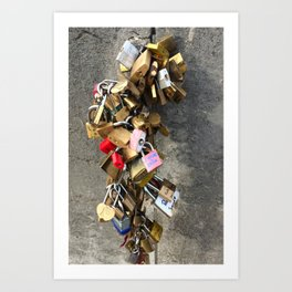 From Paris With Love... Art Print