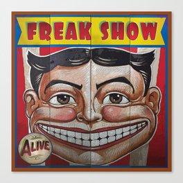 Freak Show- Funny Face Canvas Print