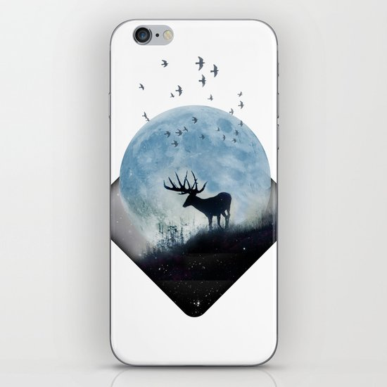 blue moon spill iPhone & iPod Skin