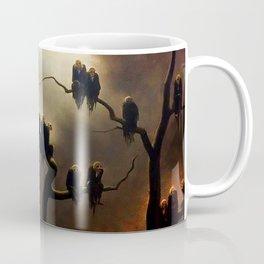 Vivid Retro - Ghosts in a Tree Coffee Mug