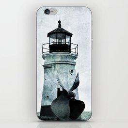Vermillion Lighthouse iPhone Skin