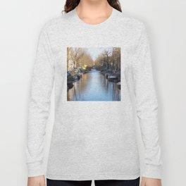 Amsterdam canal 2 Long Sleeve T-shirt