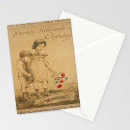 Advertisement journee nationale des orphelins Stationery Cards