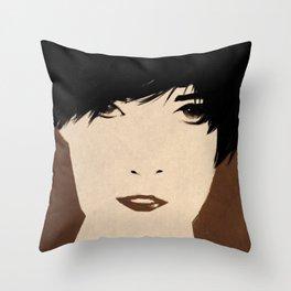 Brown Throw Pillow