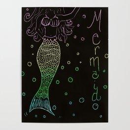 Mermaid In The Dark Poster