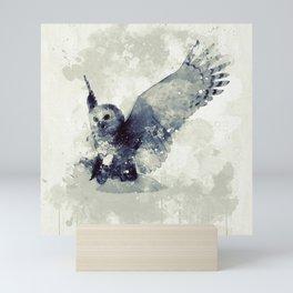 Cute owl Mini Art Print