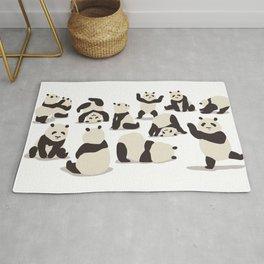 Pandas Party Rug