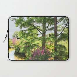 Hyde Hall in the blush of a summer Laptop Sleeve