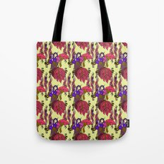 Jamaican Botanicals - Plum Tote Bag