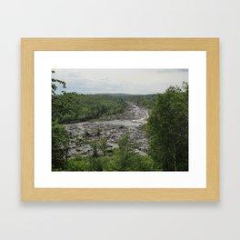 Jay Cooke - Saint Louis River Valley Framed Art Print