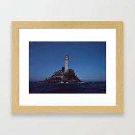 (RR 293) Fastnet Rock Lighthouse - Ireland Framed Art Print