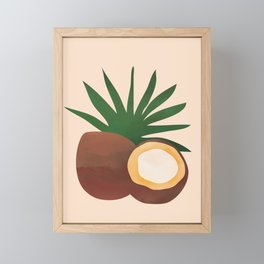 Cocconut Framed Mini Art Print