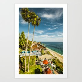 Sunny Summer Day 5533 Laguna Beach Art Print