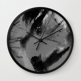 Art Abstraction 3I by Kathy Morton Stanion Wall Clock