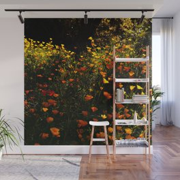 Beautiful garden flowers Wall Mural