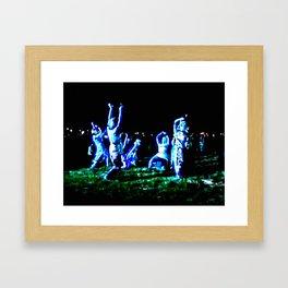 Striking Light Framed Art Print
