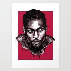 D'Angelo Art Print