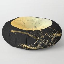 Voyager 1 Golden Record #3 Floor Pillow