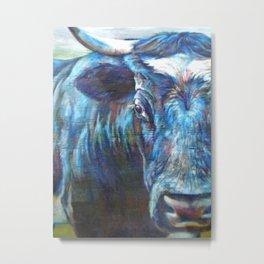 Steer (*Koinonia*) Metal Print