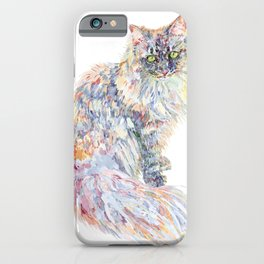 Siberian Forest Cat - Mowgli iPhone Case
