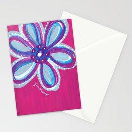 Dark Pink  Stationery Cards